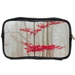 Magic forest in red and white Toiletries Bags 2-Side Front