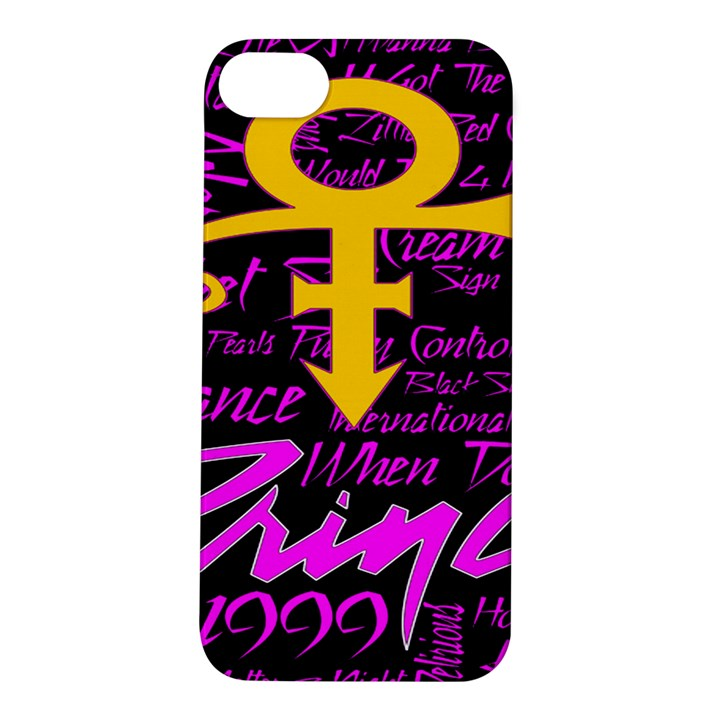 Prince Poster Apple iPhone 5S/ SE Hardshell Case
