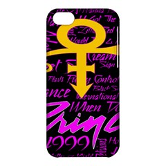 Prince Poster Apple iPhone 5C Hardshell Case
