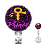 Prince Poster Stainless Steel Nurses Watch Front