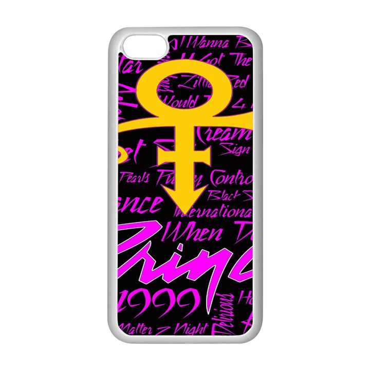 Prince Poster Apple iPhone 5C Seamless Case (White)