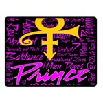 Prince Poster Double Sided Fleece Blanket (Small)  50 x40 Blanket Back