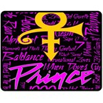 Prince Poster Double Sided Fleece Blanket (Medium)  60 x50 Blanket Back