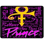 Prince Poster Double Sided Fleece Blanket (Large)  80 x60 Blanket Back