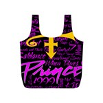 Prince Poster Full Print Recycle Bags (S)  Front