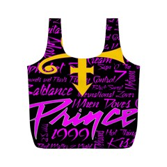 Prince Poster Full Print Recycle Bags (M)