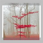 Magic forest in red and white Deluxe Canvas 24  x 20   24  x 20  x 1.5  Stretched Canvas