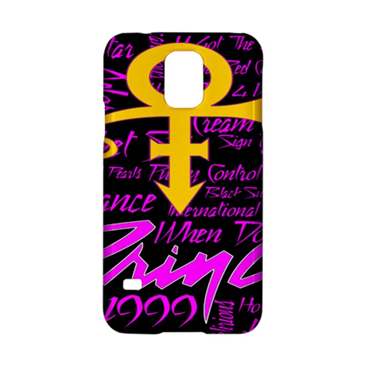 Prince Poster Samsung Galaxy S5 Hardshell Case