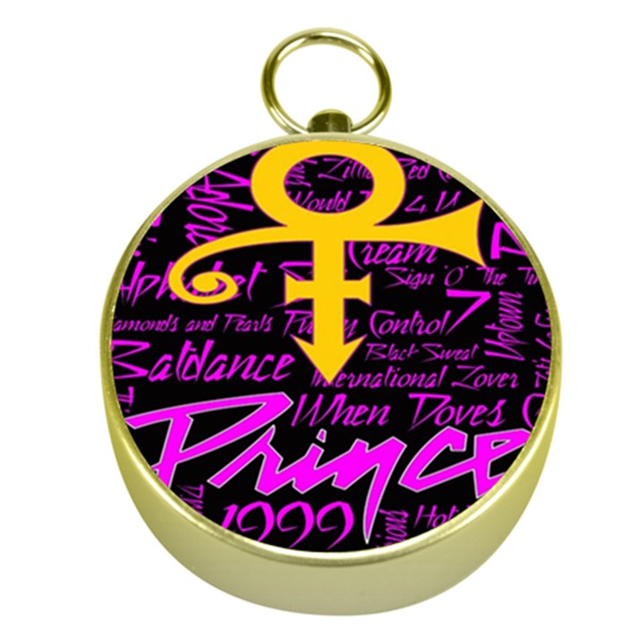 Prince Poster Gold Compasses