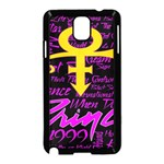 Prince Poster Samsung Galaxy Note 3 Neo Hardshell Case (Black) Front