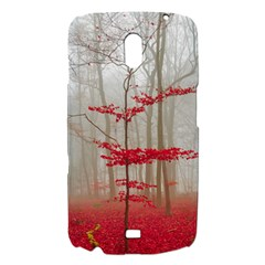 Magic forest in red and white Samsung Galaxy Nexus i9250 Hardshell Case