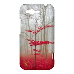 Magic forest in red and white HTC Rhyme