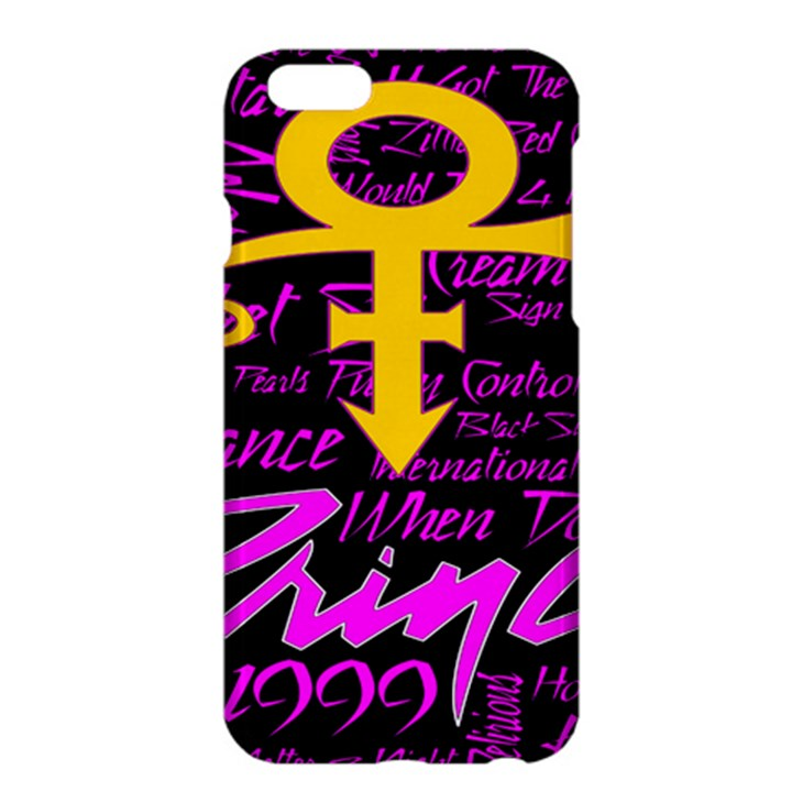Prince Poster Apple iPhone 6 Plus/6S Plus Hardshell Case