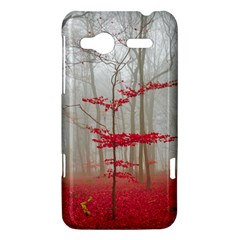 Magic forest in red and white HTC Radar Hardshell Case