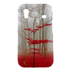 Magic forest in red and white Samsung Galaxy Ace S5830 Hardshell Case