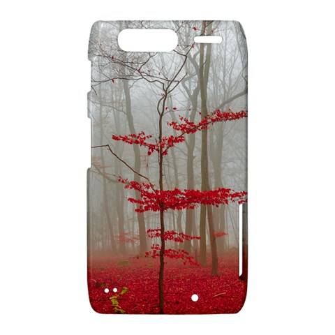 Magic forest in red and white Motorola Droid Razr XT912