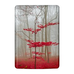 Magic forest in red and white Kindle 4