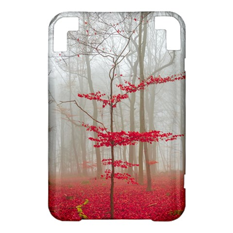 Magic forest in red and white Kindle 3 Keyboard 3G