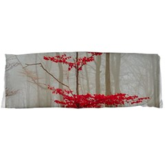 Magic Forest In Red And White Body Pillow Case Dakimakura (two Sides)