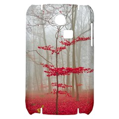 Magic forest in red and white Samsung S3350 Hardshell Case