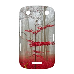 Magic forest in red and white BlackBerry Curve 9380