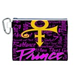 Prince Poster Canvas Cosmetic Bag (L) Front