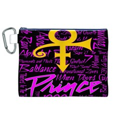 Prince Poster Canvas Cosmetic Bag (XL)