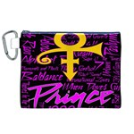Prince Poster Canvas Cosmetic Bag (XL) Front