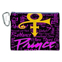 Prince Poster Canvas Cosmetic Bag (XXL)