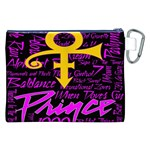 Prince Poster Canvas Cosmetic Bag (XXL) Back