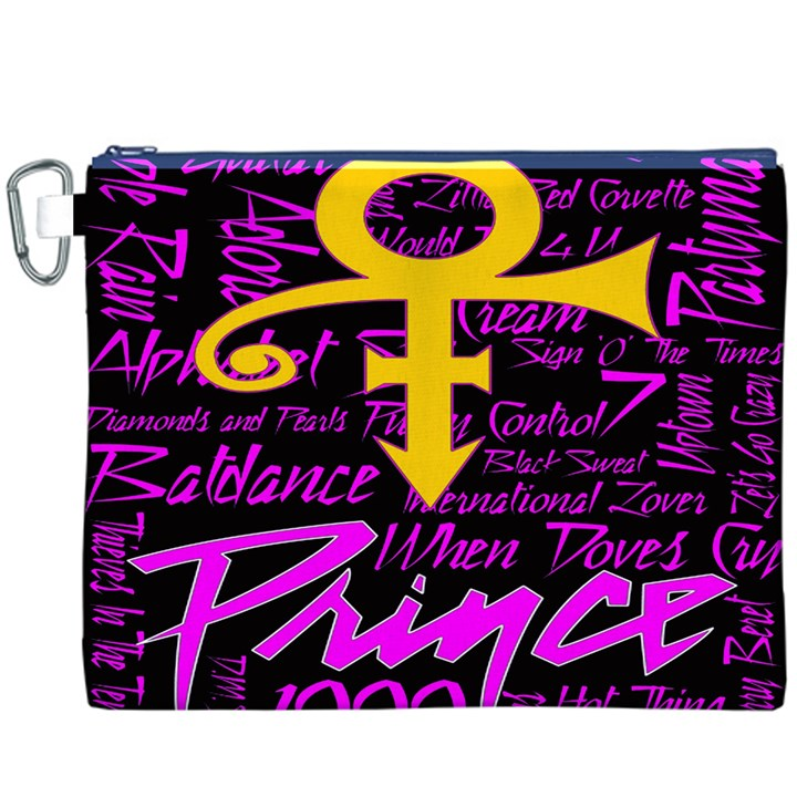 Prince Poster Canvas Cosmetic Bag (XXXL)
