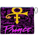 Prince Poster Canvas Cosmetic Bag (XXXL) Back