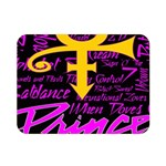 Prince Poster Double Sided Flano Blanket (Mini)  35 x27 Blanket Back