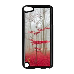 Magic Forest In Red And White Apple Ipod Touch 5 Case (black)