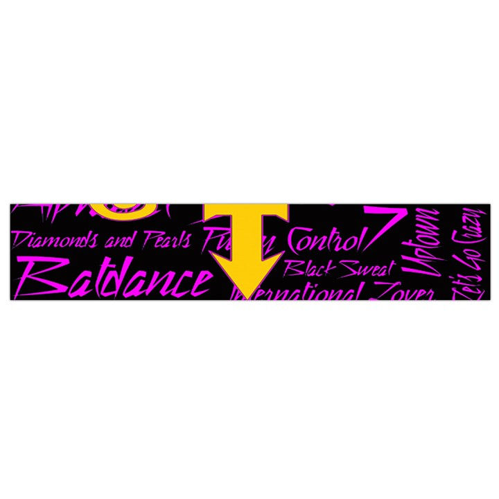 Prince Poster Flano Scarf (Small)