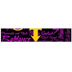 Prince Poster Flano Scarf (large)