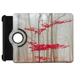 Magic forest in red and white Kindle Fire HD Flip 360 Case