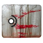 Magic forest in red and white Samsung Galaxy Note II Flip 360 Case Front