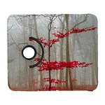 Magic forest in red and white Samsung Galaxy S  III Flip 360 Case Front