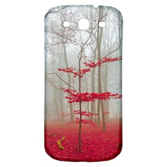 Magic Forest In Red And White Samsung Galaxy S3 S Iii Classic Hardshell Back Case