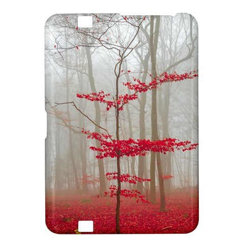 Magic forest in red and white Kindle Fire HD 8.9