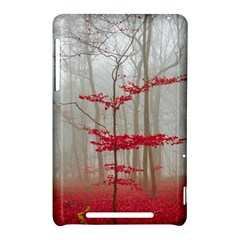 Magic forest in red and white Nexus 7 (2012)
