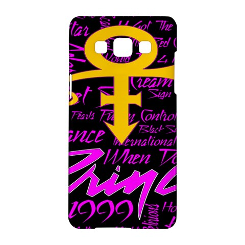Prince Poster Samsung Galaxy A5 Hardshell Case