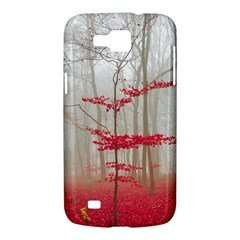 Magic forest in red and white Samsung Galaxy Premier I9260 Hardshell Case
