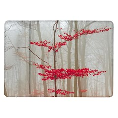 Magic forest in red and white Samsung Galaxy Tab 10.1  P7500 Flip Case