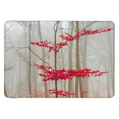 Magic forest in red and white Samsung Galaxy Tab 8.9  P7300 Flip Case