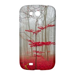 Magic forest in red and white Samsung Galaxy Grand GT-I9128 Hardshell Case