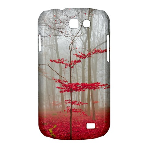 Magic forest in red and white Samsung Galaxy Express I8730 Hardshell Case
