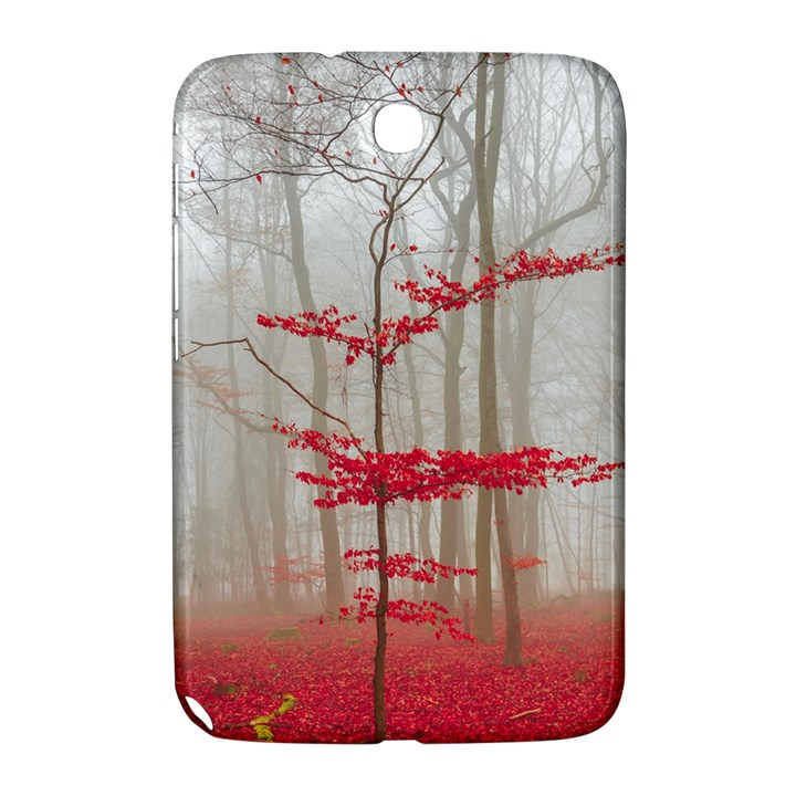 Magic forest in red and white Samsung Galaxy Note 8.0 N5100 Hardshell Case