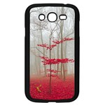 Magic forest in red and white Samsung Galaxy Grand DUOS I9082 Case (Black) Front